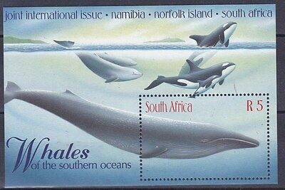 Sud Africa South Africa 1998 Bf 68 Balene MNH