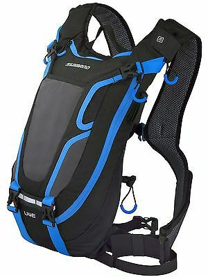Shimano Hydration Pack Unzen U4E - Without Reservoir - 4 Litre Schwarz-blau