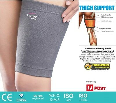 Iso Who Ce Certified Orthopaedic Thigh Hamstring Support Brace Injury Pain D14