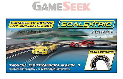 Scalextric Track Extension Pack 1 - Racing Curve 1:32 - Toys Brand New