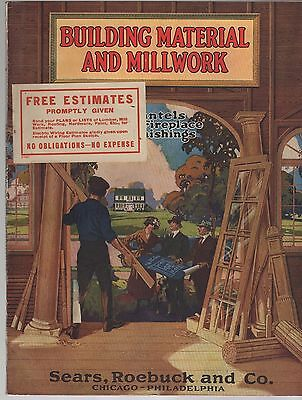 1926 Building Material And Millwork Catalog Sears Roebuck and Co.