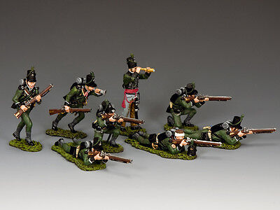 KING AND COUNTRY NAPOLEONIC 95th The Rifle Section NA-S03