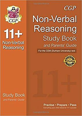 11+ Non-Verbal Reasoning Study Book and Parents' Guide
