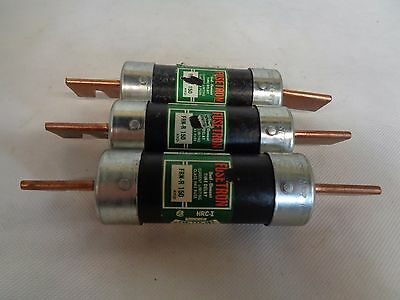 Lot Of 3 Bussmann Fusetron Frn-R-150 Dual Element Time Delay Fuse