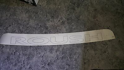 2015-2017 Mustang ROUSH Windshield Banner - Etched Glass