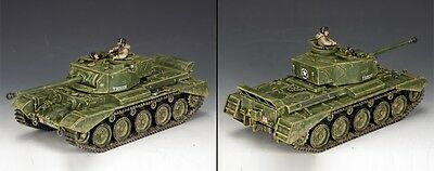 KING AND COUNTRY The British Comet Tank BBB001 BBB01