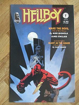 Hellboy Wake The Devil #3 Very Fine/near Mint  (W12)