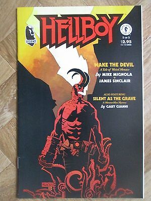 Hellboy Wake The Devil #5 Very Fine/near Mint  (W12)