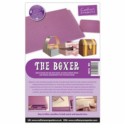 Crafters Companion Ultimate Pro Embossing Board  The Boxer - for Box making