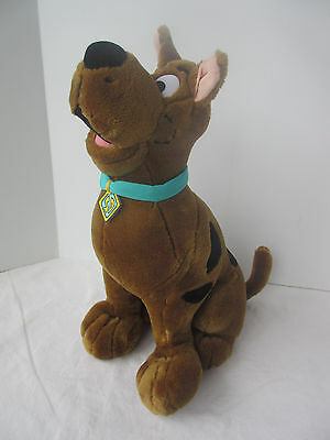 "Scooby Doo Talking Plush Large 14"" Stuffed Animal 1998 Equity Toys Works"