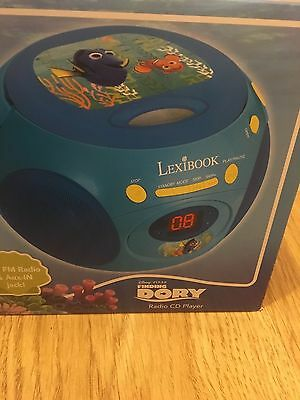 Finding Dory Lexibook Radio CD player New mains or cordless
