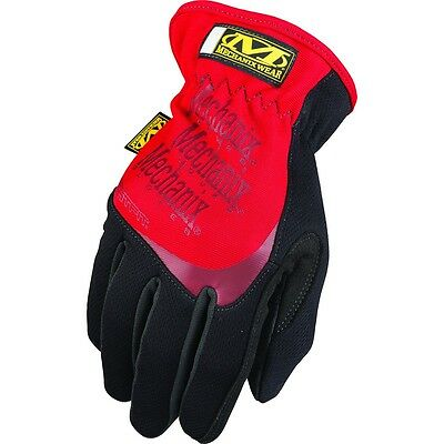 Mechanix Wear FastFit Series Gloves, Red, 2XL, MFF-02-012