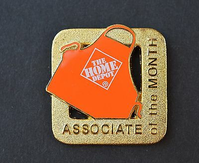 Home Depot Associate of the Month Apron Pin
