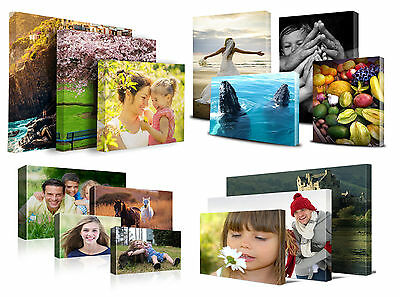 Personalised Canvas Printing Your Photo Picture Image Printed Box Framed Poster
