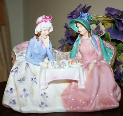 Royal Doulton AFTERNOON TEA HN1747 UK Figurine Lovely Condition  just Delightful