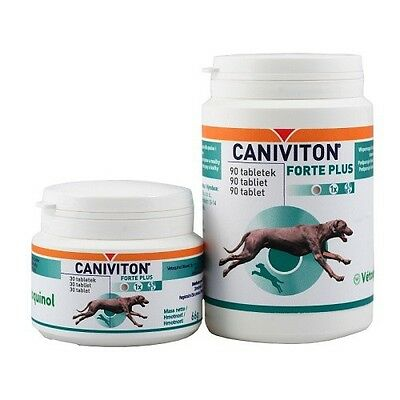 Caniviton Forte Plus 90 tabl dla psów kotów joint supplement for dogs cats