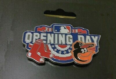 Boston Red Sox 2016 Opening Day At Fenway Park Pin