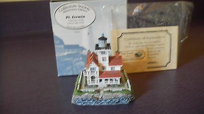 Harbour Lights Point Fermin Collectors Society #528  3 inch Mini  New in box
