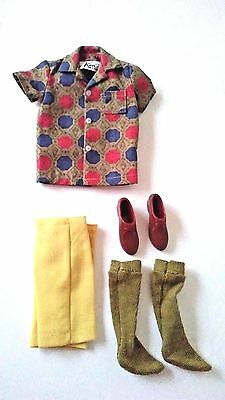 VINTAGE MATTEL 1960's KEN DOLL SPORT SHORTS OUTFIT #783 - GREAT CONDITION