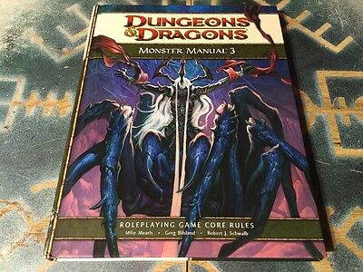 Monster Manual 3 ~ Dungeons & Dragons 4th Edition