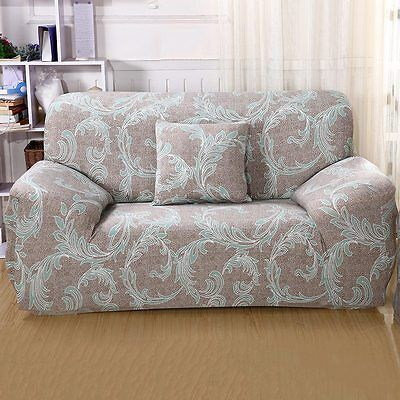 Newly Slipcover Stretch Sofa Loveseat Couch 1-4 Seater Dustproof Cover Protector