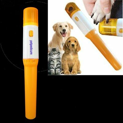 New Pet Pedicure Professional Dog Cat Nail Grinder Trim Clipper Nail Groomer