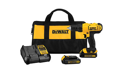 Dewalt Power tool Drill 20v Max Lithium Cordless, 2 Speed, Compact, Driver kit