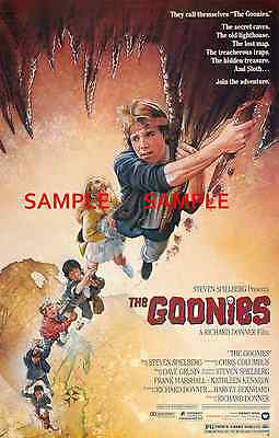 """The Goonies ( 11"""" x 17"""" ) Movie Collector's Poster Print - B2G1F"""