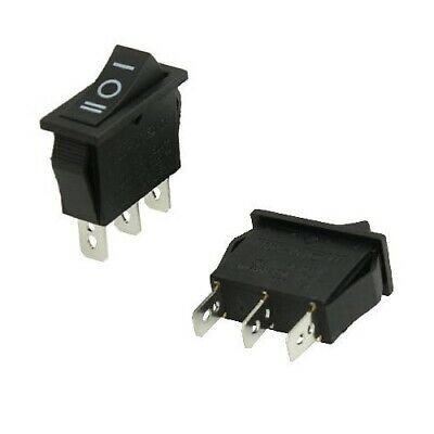 2x Square Rocker Car/Machine Switch SPDT 3-Position AC 15A 250V / 20A 125V Small
