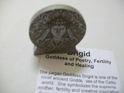 Brigiid - Goddess of Poetry, Fertility and Healing 40mm tall