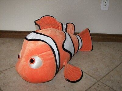 "Finding Nemo Plush Large Fish - About 28"" Long"