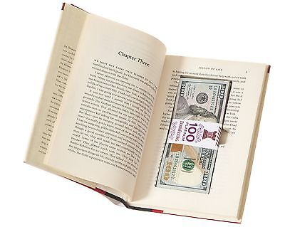 BookRooks Recycled Hollow Book Cash Box with Magnetic Closure (diversion safe)