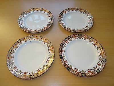 4 x Antique/Vintage Imari Pattern Side Plates