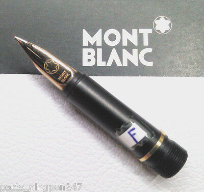 Montblanc Noblesse Fountain Pen No.2118  F Gold Plated Nib Part NOS
