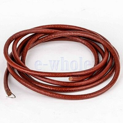 """72"""" Leather Belt For Vintage Home Treadle Peddling Type Sewing Machine BS"""