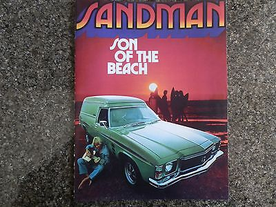 Holden 1976 Hj Sandman Sales  X2  100% Guarantee.