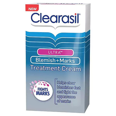 Clearasil Ultra Blemish & Marks Treatment Cream 30ml New
