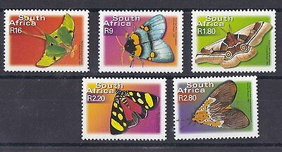 Sud Africa South Africa 2002 Farfalle serie corrente 1211-15 MNH