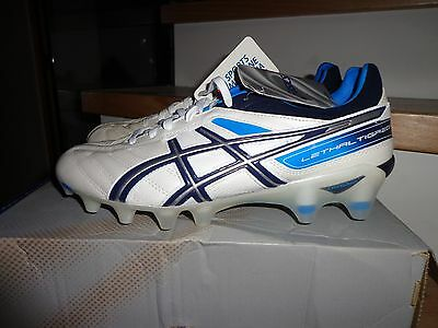 NEW ASICS FOOTBALL BOOTS LETHAL TIGREOR size us 8, euro 41.5euro 26cm