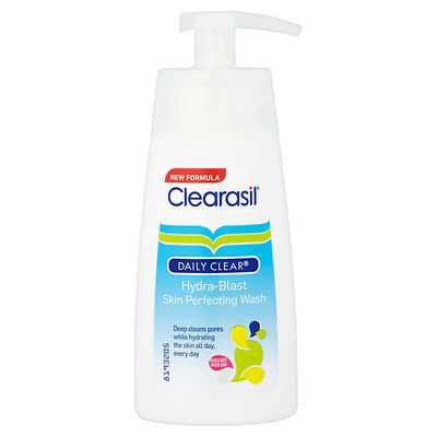 Clearasil Daily Clear Hydra-Blast Skin Perfecting Wash 150ml New
