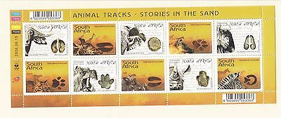 Sud Africa South Africa 2006 Mf 1388-97 Fauna MNH