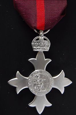 STERLING SILVER 1st ISSUE  MBE, MEMBER OF THE BRITISH EMPIRE