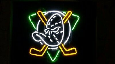 "New Anaheim Ducks Beer Neon Sign 19""x15"" Ship From USA"