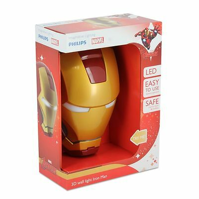 Lampe 3D Iron Man Philips - Casque Iron - Neuf