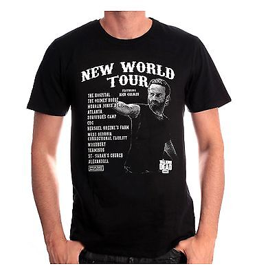 Tshirt  The Walking Dead - New World Tour - Neuf