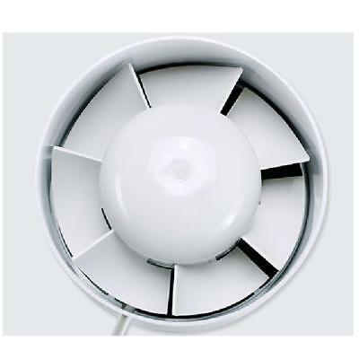 "Inline Duct Booster Exhaust Fan - (4"") 