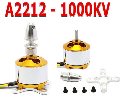 2212 1000KV Brushless Outrunner Motor For RC Helicopter Aircraft Quadcopter