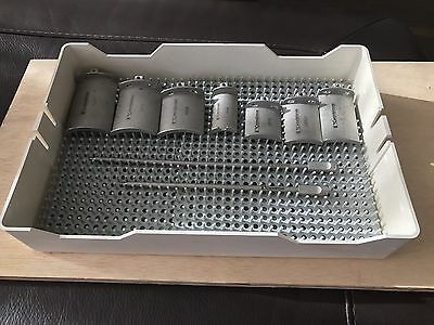 Edwards Cardiovations ARSL Heartport Atrial Retractor Set with 7 Blades