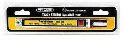 Woodland Tidy Track TT4581 Track Painter - Rusty Rail Paint Pen - 1st Class Post
