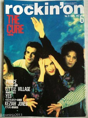 rockin'on 6/1993 Japan Music Magazine The Cure Prince Yes